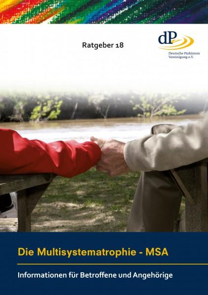 """Ratgeber 18 """"Die Multisystematrophie - MSA"""""""