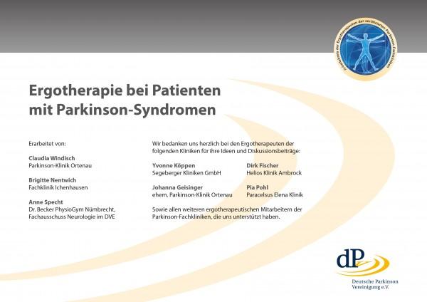 Ergotherapie-Ratgeber für Patienten mit Parkinson-Syndromen