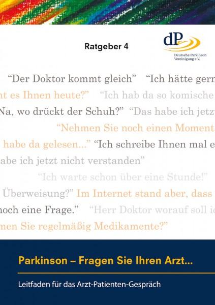"""Ratgeber 04 """"Leitfaden für das Arzt-Patienten-Gespräch"""""""