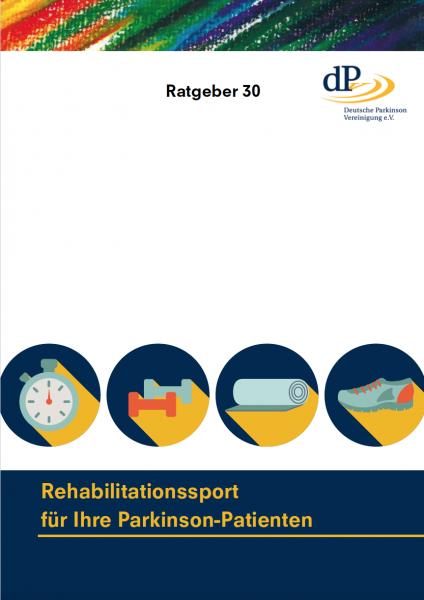 """Ratgeber 30 """"Rehabilitationssport für Ihre Parkinson-Patienten"""""""