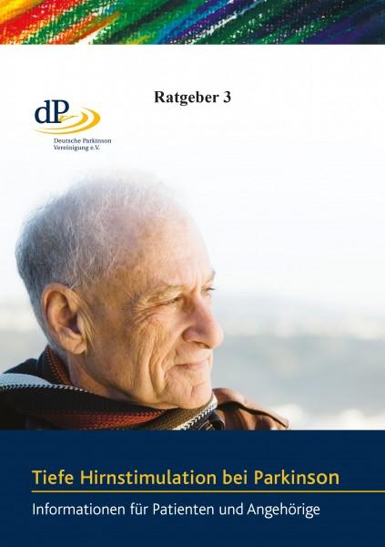 """Ratgeber 03 """"Tiefe Hirnstimulation bei Parkinson"""""""