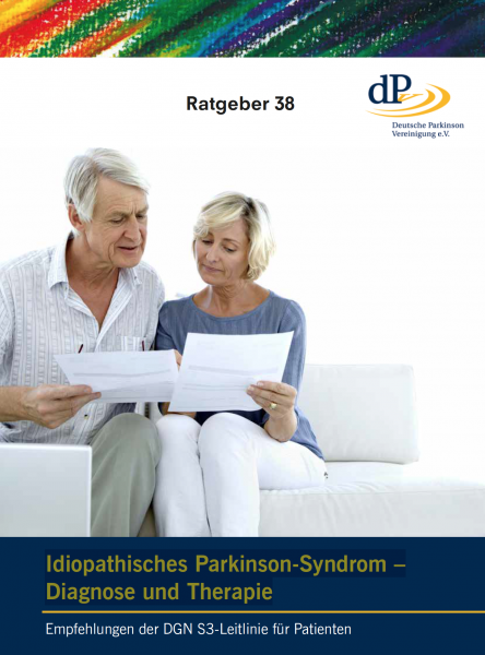 "Ratgeber 38 ""Idiopathisches Parkinson-Syndrom – Diagnose und Therapie"""