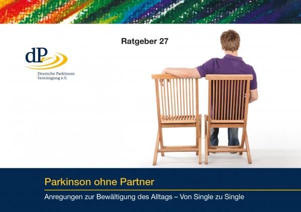 """Ratgeber 27 """"Parkinson ohne Partner"""""""