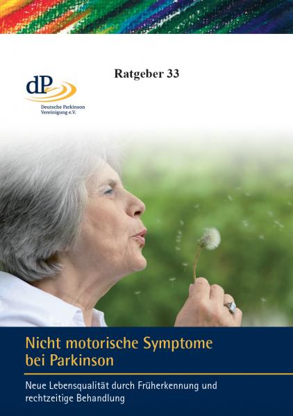 """Ratgeber 33 """"Nicht motorische Symptome bei Parkinson"""""""