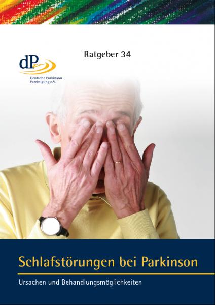 """Ratgeber 34 """"Schlafstörungen bei Parkinson"""""""