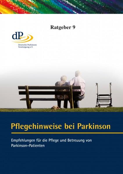 """Ratgeber 09 """"Pflegehinweise bei Parkinson"""""""